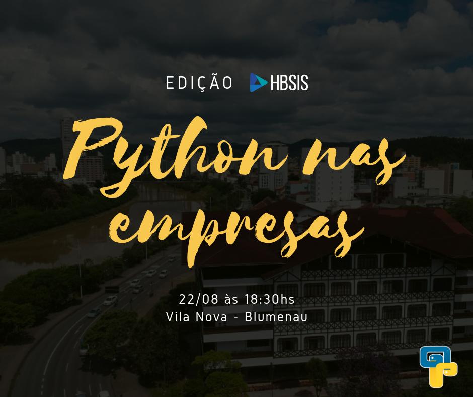 Python nas Empresas - Edição HBSIS