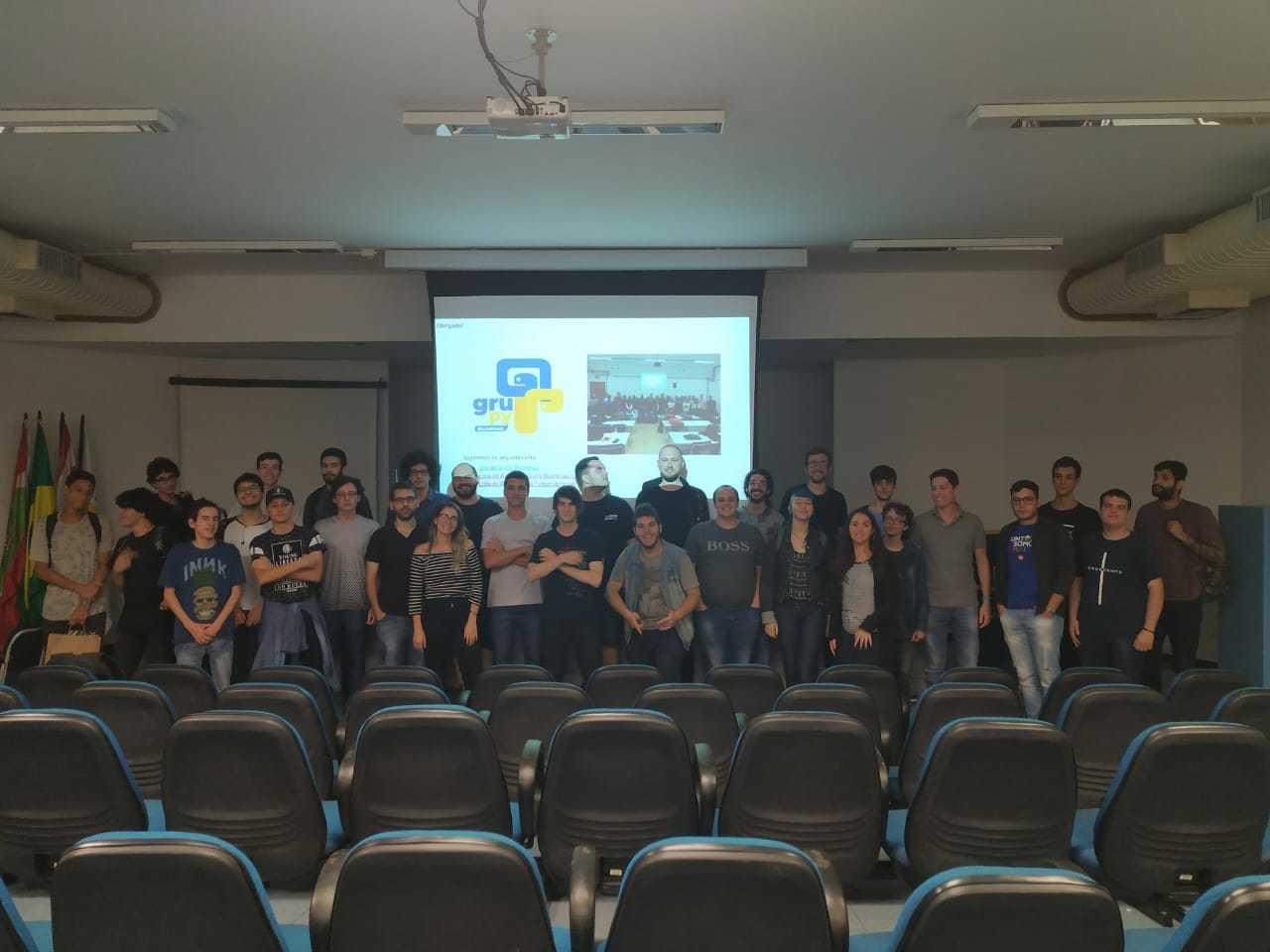 GruPy na Semana acadêmica de computação da FURB 2019
